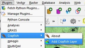 View Results in QGIS with Crayfish - Tuflow